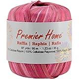 Premier Yarns Raffia Multis Yarn, Red Maple