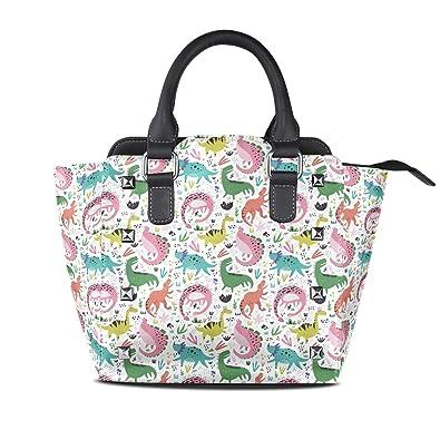 Amazon.com: Bonito bolso de hombro con estampado de ...