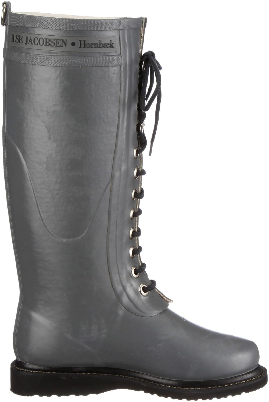 ILSE JACOBSEN Women's Rub 1 Rain Boot B005OK0X9E 41 M EU / 11 B(M) US|Grey