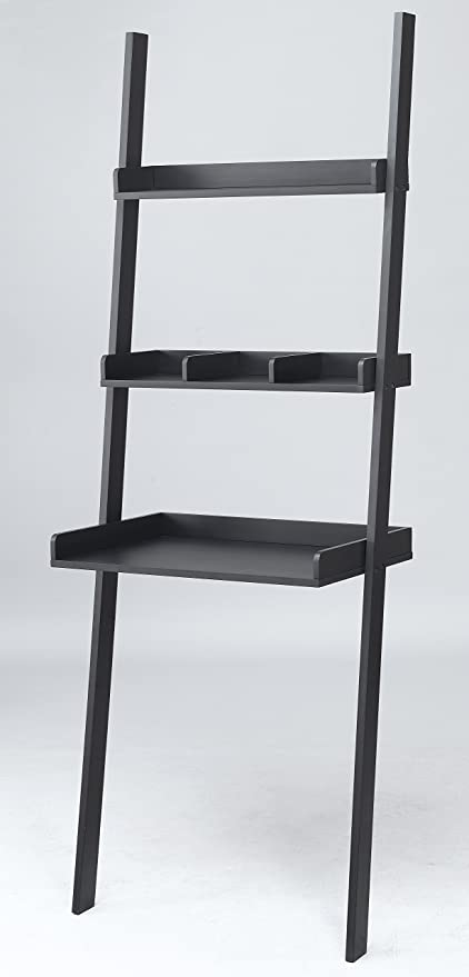 FDW 3 Tiered Ladder Shelving Display Stand Bookshelf Storage Rack