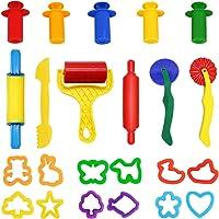 Outils de Pâte À Modeler, WonderforU 11 pièces Moules Kit pour Argile Pâte à Modeler avec Extrudeuses, Couleur Aléatoire (11 pièces)