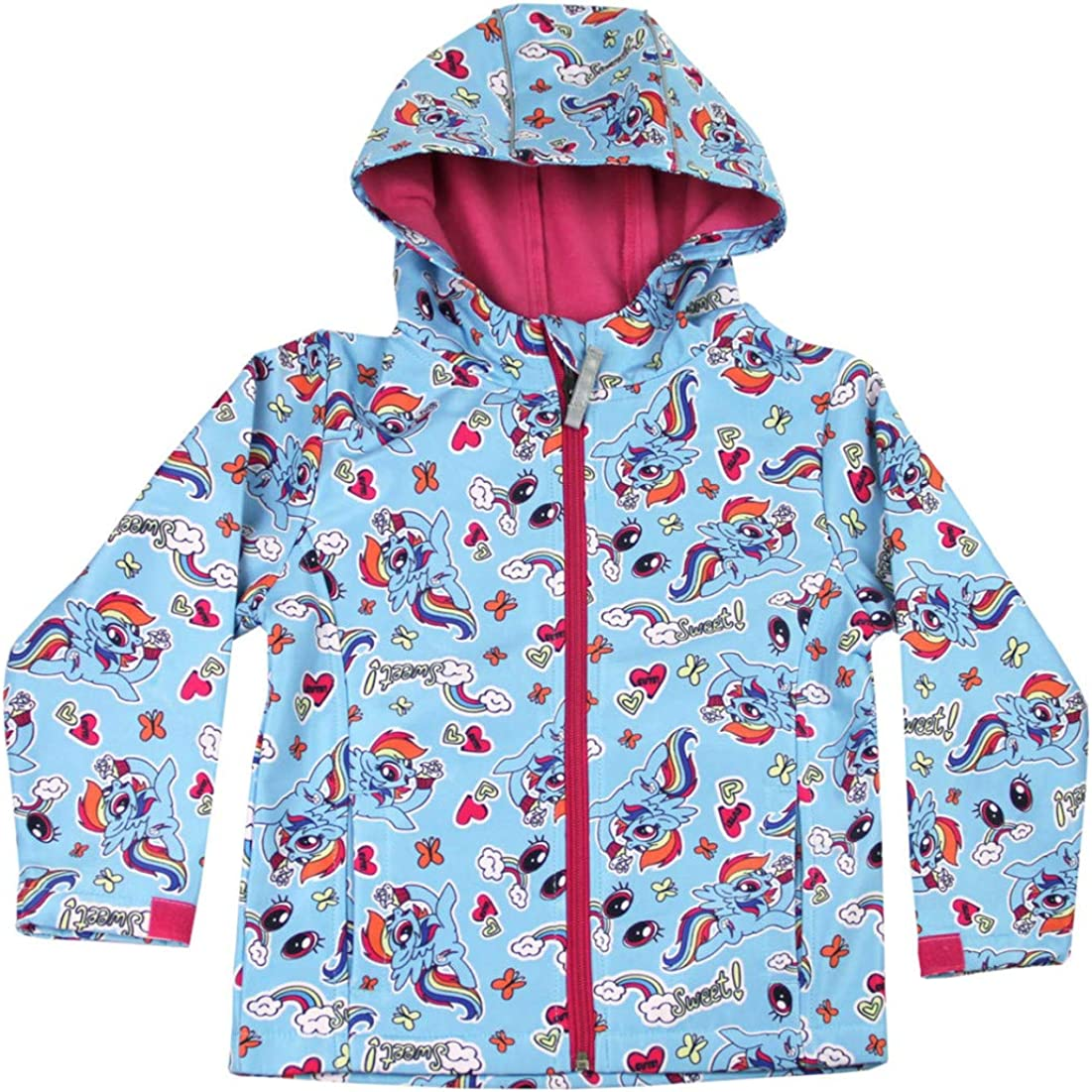 My Little Pony Hooded Jacket Kids Zipped Fleece Coat