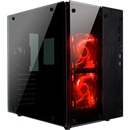 Amazon.com: Rosewill CULLINAN PX Tempered Glass Full Window Desktop