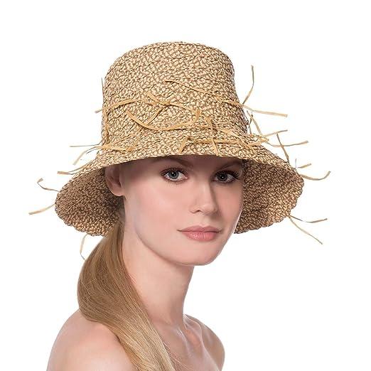 91e7258586ecb Eric Javits Luxury Women s Designer Headwear Hat - Valeria - Peanut