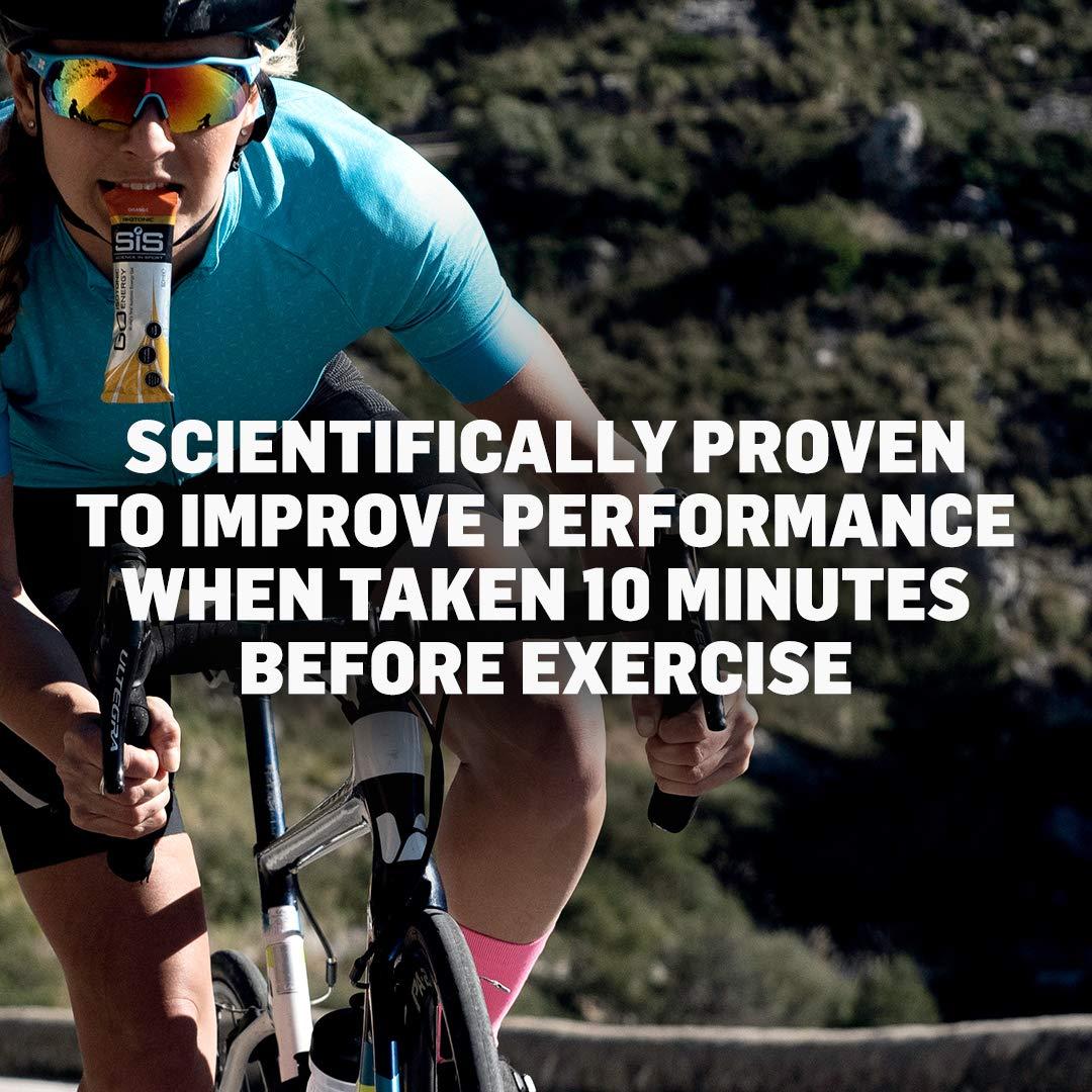 Science in Sport Energy Gel Pack, SIS Energy Gel + Caffeine, 22g Fast Acting Carbs, Performance & Endurance Gels, Citrus Flavor - 2 Oz. (30 Pack) by Science in Sport (Image #2)