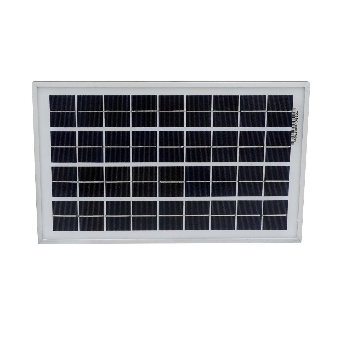 Amazon.com : ECO-WORTHY 10W Solar Panel 10 Watt 12 Volt Pv Solar Module, Solar  Cell Panel : Garden & Outdoor