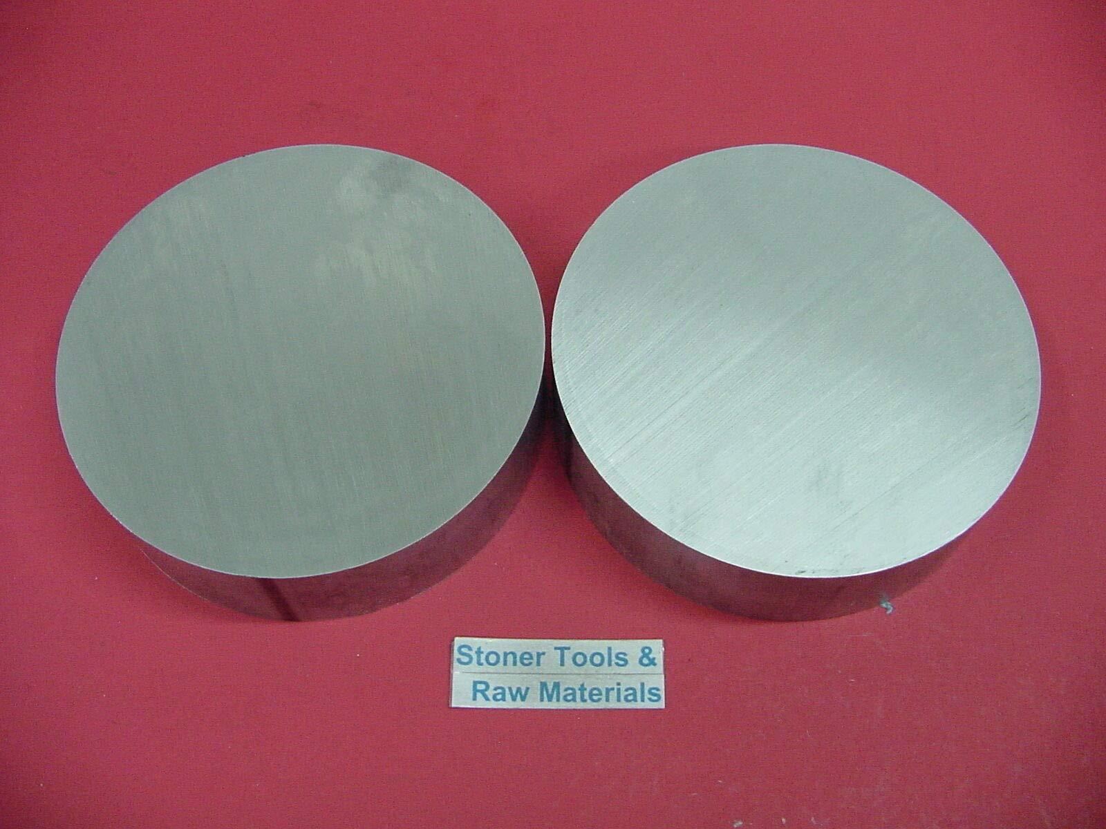 2 Pieces 8'' Aluminum 6061 Round Rod .75'' Long T6511 8.00'' Solid Lathe Bar Stock by NEVASTORE
