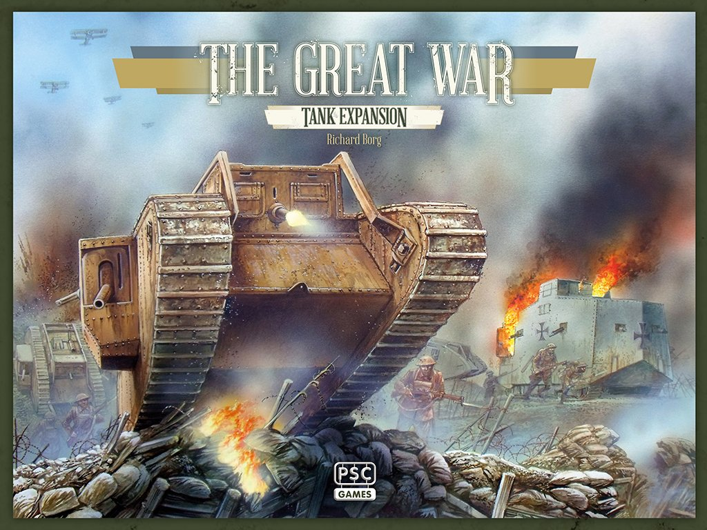 Tank The Great War Boardgame Expansion by Unknown PSC Games