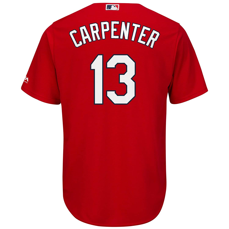 buy online 5579f f6e43 Amazon.com: Matt Carpenter St Louis Cardinals Red Youth Cool ...