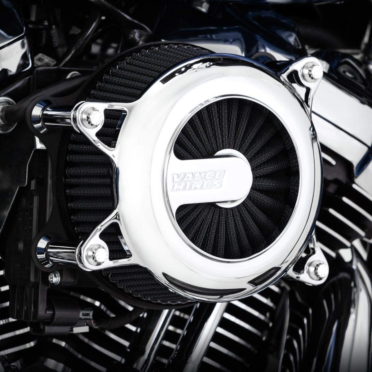 Vance /& Hines Rogue VO2 Air Intake for 17-19 Harley FLHX2 Chrome
