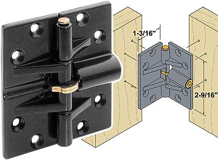 Woodtek 170165, Hardware, Hinges, Specialty, Double Locking Bifold Door  Hinge