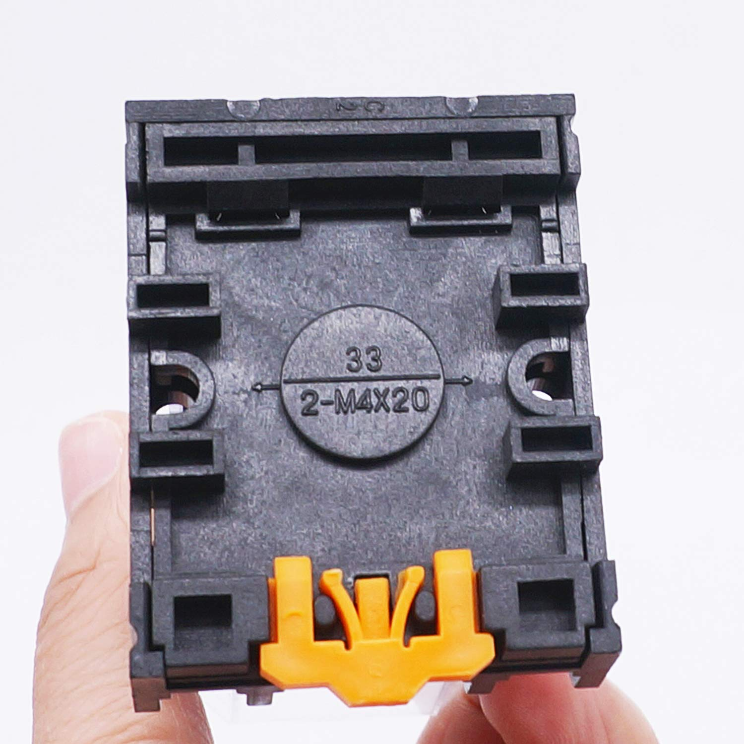 Quality Assurance for 1 Years 8 Pin 2NO 2NC MK2P-I DPDT Power Relay with Plug-in Terminal Socket Base AC 12V AC 12V Coil TWTADE//JTX-2C