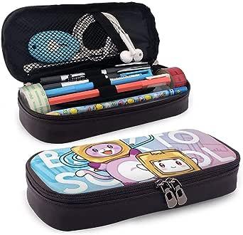 Yuantaicuifeng Estuche de Cuero Impermeable para lápices Cute_Lankybox Cajas de lápices para niñas, niños, Bolsa de lápices, Bolsa Escolar para niños, papelería
