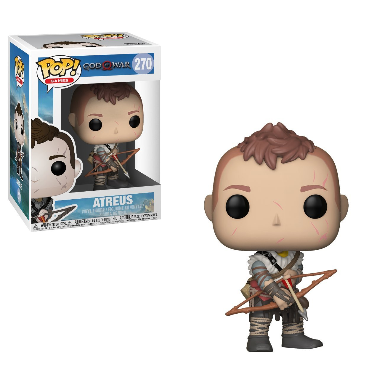 Funko Pop Games: God of War-Atreus Collectible Figure