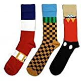 Official SEGA Sonic the Hedgehog Socks (3 pairs)