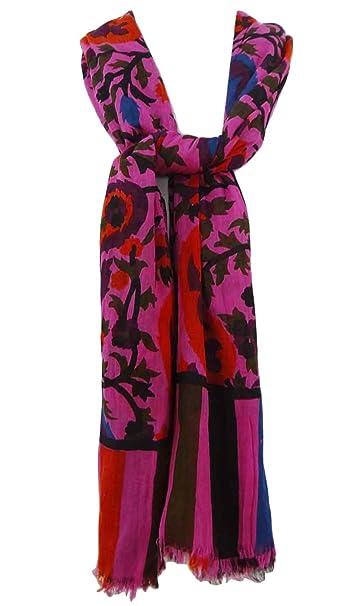 Las mujeres de algodón indio Pareo Pareo del abrigo de la bufanda de gran tamaño Sarong