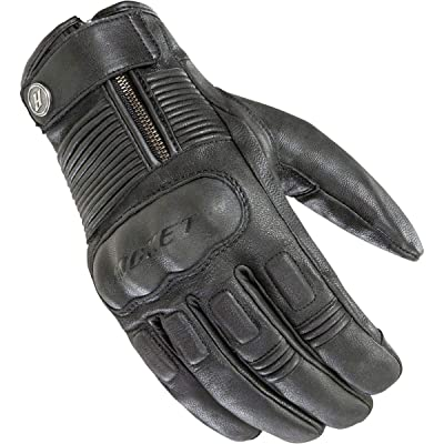 Joe Rocket Men's Briton Motorcycle Glove (Black, Large): Automotive
