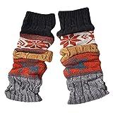 2019 Newest Socks For Women,Winter Warm Leg Warmers Cable Knit Knitted Crochet High Long Socks Leggings,