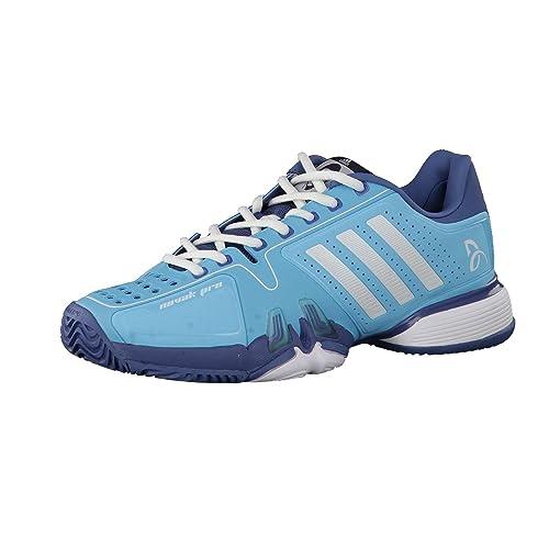 adidas Zapatillas Tenis Hombre Novak Pro, hombre, Blue Glow/Ftwr White/High Steel, 50: Amazon.es: Deportes y aire libre