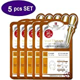 Leaders Snail Therapy Skin Clinic Face Mask 5pcs in a Gift Packaging by FACIAL-MASK