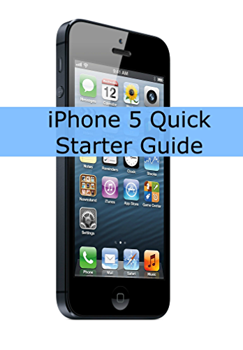 iPhone 5 Quick Starter Guide (Or iPhone 4 / 4S with iOS 6)
