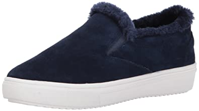 f667b8197ee STEVEN by Steve Madden Women s Cuddles Fashion Sneaker Navy Suede 9 ...
