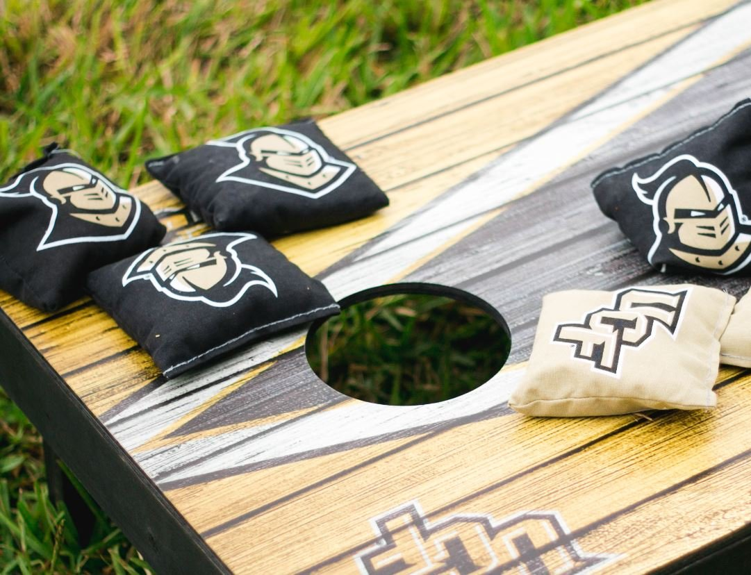 Victory Tailgate 8 Pittsburgh Penguins Regulation Stanley Cup Champions 2017 Cornhole Bags (Corn-Filled)