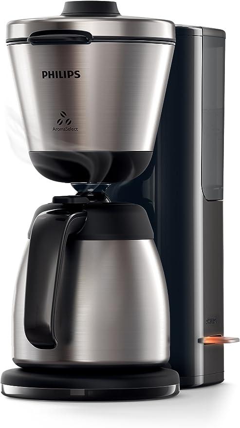 Philips Intense HD7697/90 - Cafetera (Independiente, Cafetera de filtro, 1,2 L, De café molido, 1000 W, Negro, Acero inoxidable): Amazon.es: Hogar