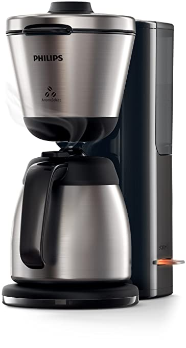 Philips Intense HD7697/90 - Cafetera (Independiente, Cafetera de filtro, 1,2 L, De café molido, 1000 W, Negro, Acero inoxidable): Amazon.es: Hogar