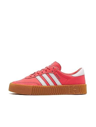 sneaker plateau rot adidas