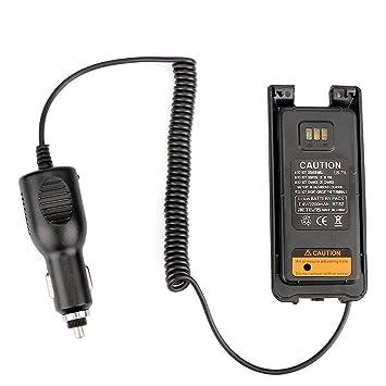 Retevis RT82 Eliminador de Batería Cargador de Coche 12V-24V para DMR Radio Walkie Talkie Retevis RT82 Dual Banda Walkie Talkie: Amazon.es: Electrónica