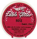 Rainbow Dust Glitzerpulver essbar, rosa, 1er Pack (1 x 5 g)