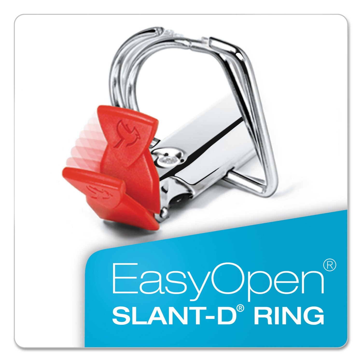 CRD43150 - FreeStand Easy Open Locking Slant-D Ring Binder by Adams (Image #3)