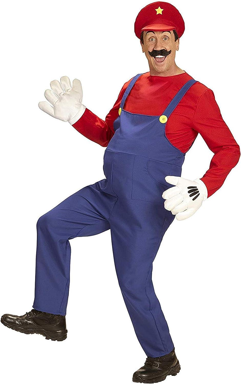 widmann-wdm08702 disfraz Adulto para hombre, Color Rojo y Azul ...