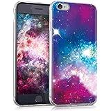kwmobile Apple iPhone 6/6S Hülle - Handyhülle für Apple iPhone 6/6S - Handy Case in Mehrfarbig Pink Schwarz