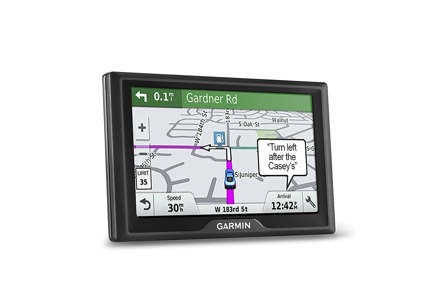 Amazon.com: Garmin Drive 61 USA LM GPS Navigator System with Lifetime Maps,  Spoken Turn-By-Turn Directions, Direct Access, Driver Alerts, TripAdvisor  and ...