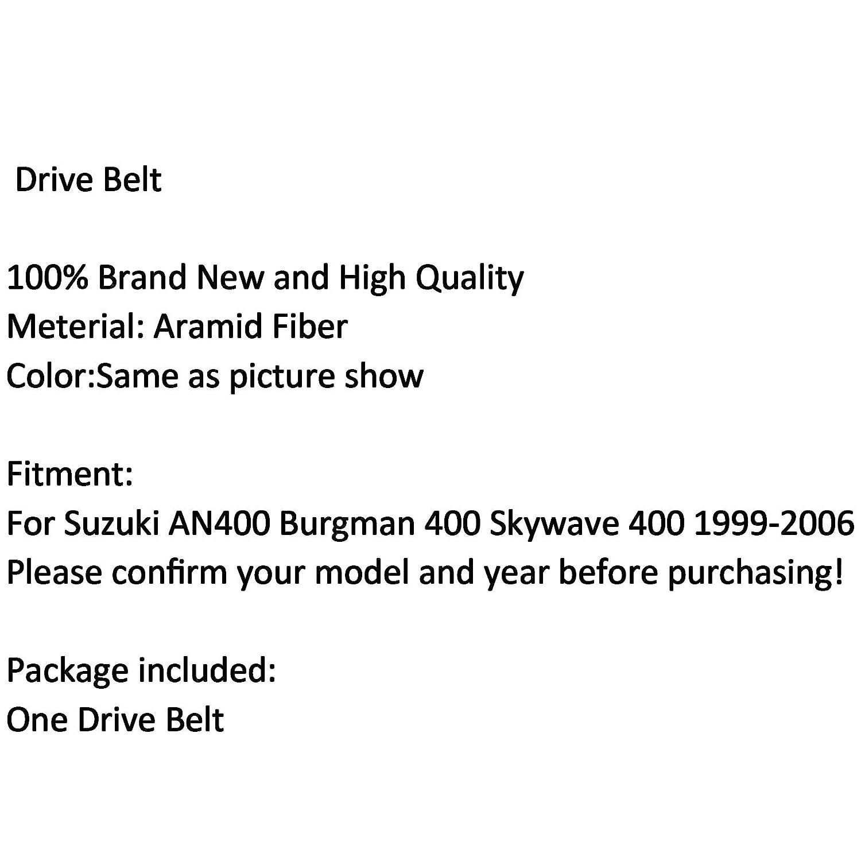cinghia di trasmissione per SUZU-KI AN400 Burgman 400 Skywave 400 1999-2006 Artudatech Cinghia di trasmissione per motocicletta
