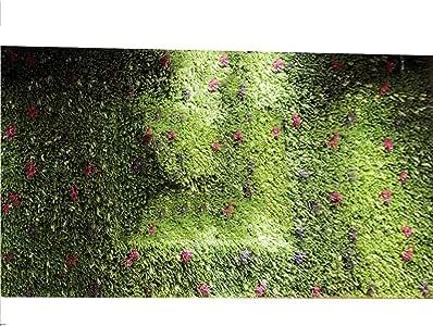 Planta artificial de pared con diseño de flor, para decoración de jardín, valla o balcón (color: C, tamaño: 100 x 100 cm), C, 100 x 100 cm: Amazon.es: Bebé