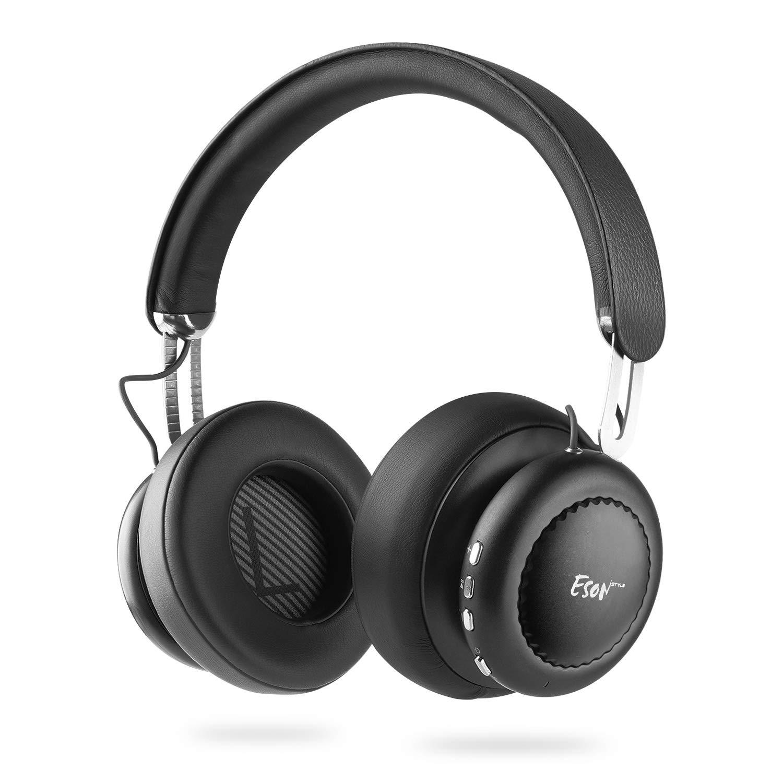 Noise Cancelling Kopfhörer ANC Bluetooth 4.1 Kopfhörer Kabellose Over Ear Headset mit Aktiver Rauschunterdrückung 14 Std. Laufzeit, Faltbarer Stereo Headphone Eingebautes Mikrophon