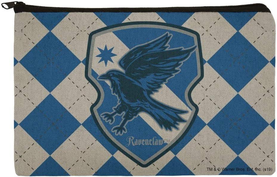 Harry Potter Ravenclaw - Estuche organizador con cremallera, diseño de cuadros: Amazon.es: Oficina y papelería