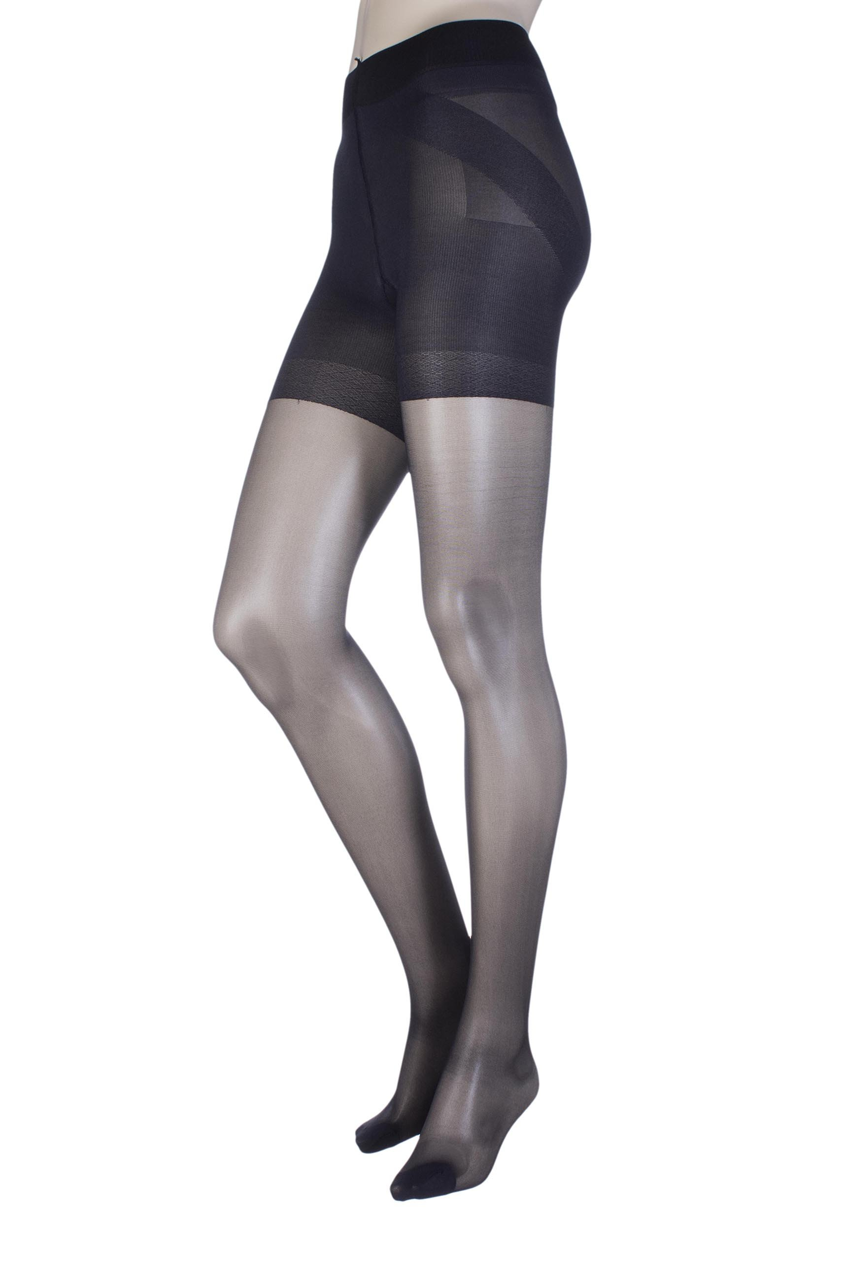 a629e052a8060 Oroblu Shock Up Body Sculpture Pantyhose Hosiery (Small Black ...