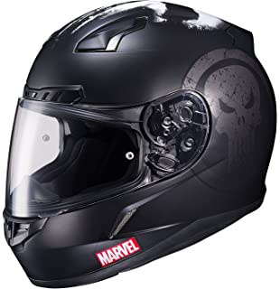 HJC Helmets Marvel CL-17 Unisex-Adult Full Face THE PUNISHER Street Motorcycle Helmet