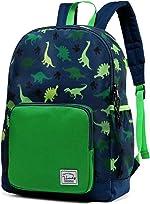 Backpack for Boys, VASCHY Cute Lightweight Water Resistant Preschool Backpack for