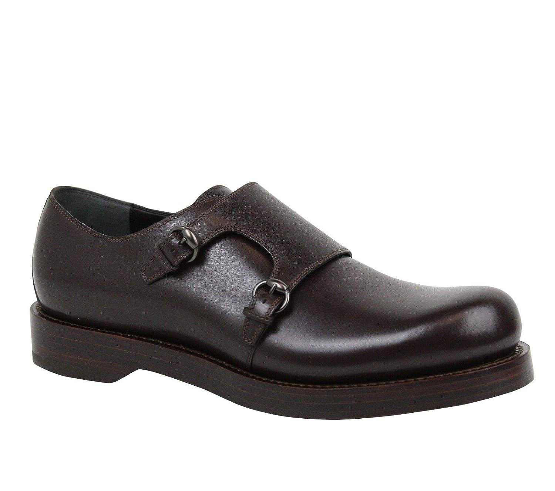 2b4442ddee1f Amazon.com  Gucci Horsebit Buckle Monk-Strap Brown Leather Dress Shoes  358272 2145 (10.5 G   11.5 US)  Shoes