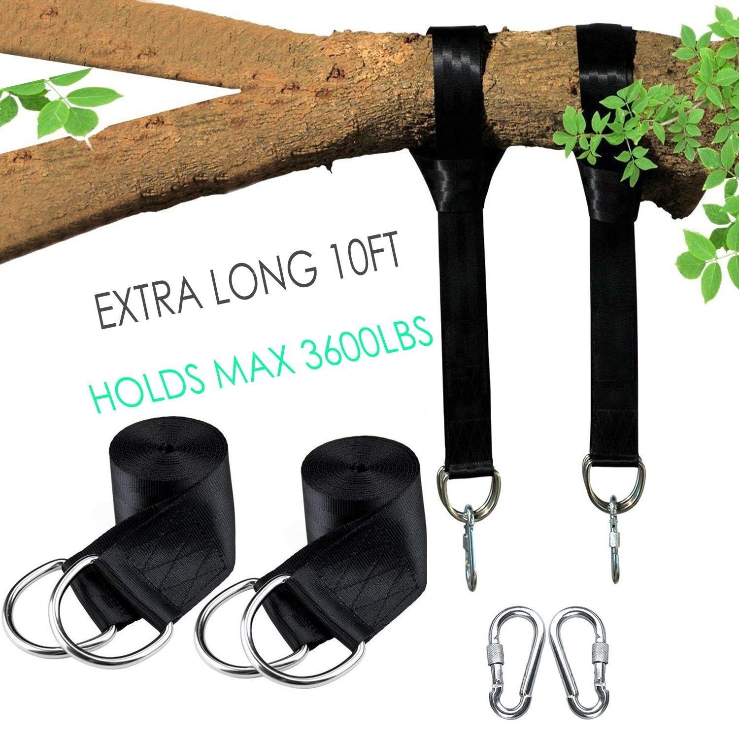 Tree Swing Hanging Sets, Kit - Harm, 3m Tree Swing Disc Straps 2 Holds 1630kg, Tree No Harm, Perfect For Hammocks, Tree Swing Sets, Disc Swings And . Swing Ropes For Best Tree Swing B072LTWGNB, ブーツとスニーカー Face to Face:2634b981 --- itxassou.fr