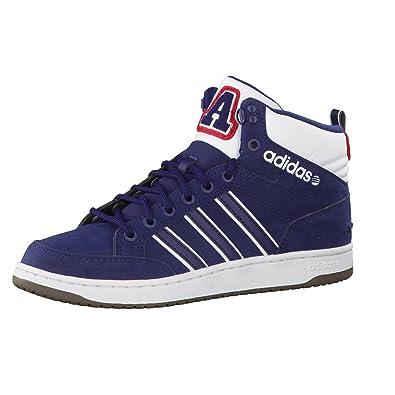 adidas Neo Hoops LX Mid Mens Turnschuhe Blau Größe: UK: