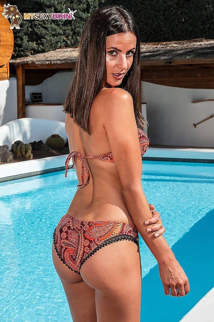 Sexy Bikini Bademode Damen Orange Schwarz Weiß Blau Rosa - - - Scilly 3 Teilen (Brasilien + String + top) B07DL7J217 Bikini-Sets Angenehmes Aussehen 498a0a