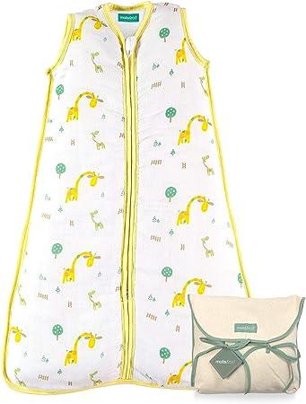 LIGERO Y FRESCO: Saco de dormir súper ligero y fresco para bebés creado por molis&co. Ideal para el