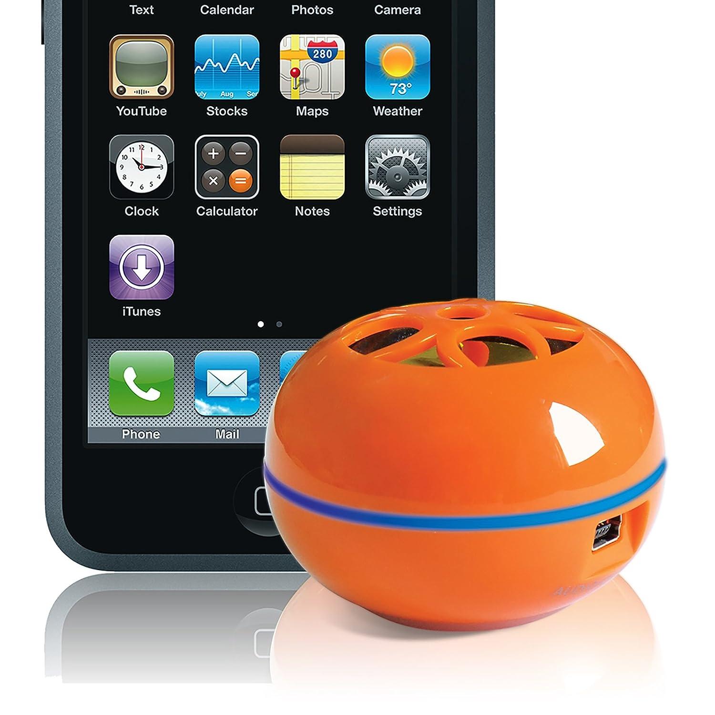 Grandmax SPKR-M1L-OR Teeny Tweakers, 1.7W Portable Speaker (Orange)