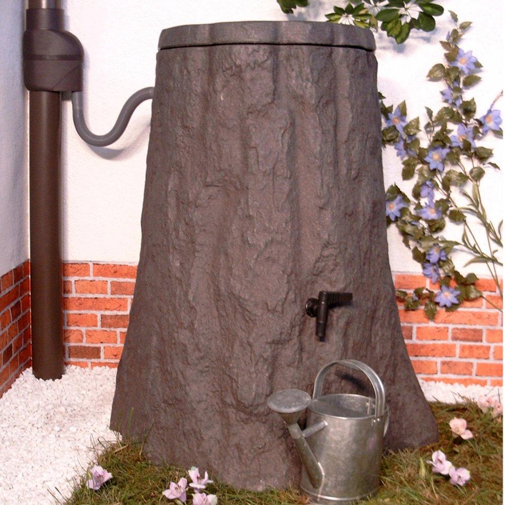 Regentonne Baum baumrinden-grau 300l von Amur
